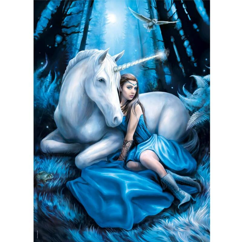 Anne Stokes Collection - Blue Moon 1000 db-os puzzle - Clementoni
