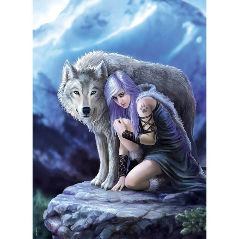 Anne Stokes Collection - Protector 1000 db-os puzzle - Clementoni