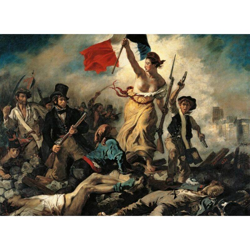 Delacroix: A Szabadság vezeti a népet 1000 db-os puzzle - Clementoni Museum Collection