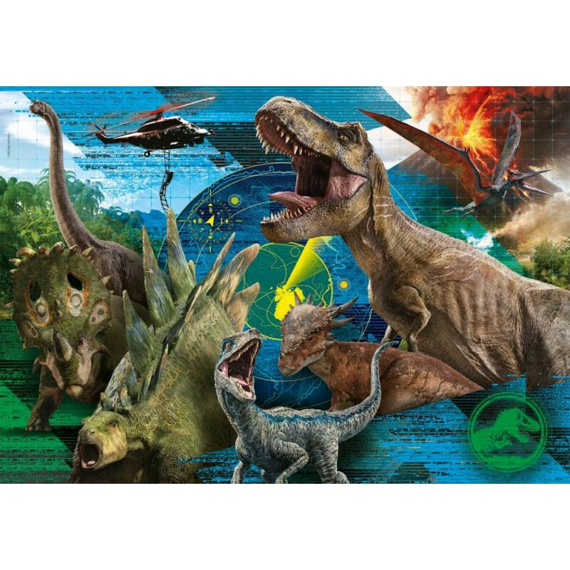 Jurassic World 104 db-os puzzle - Clementoni