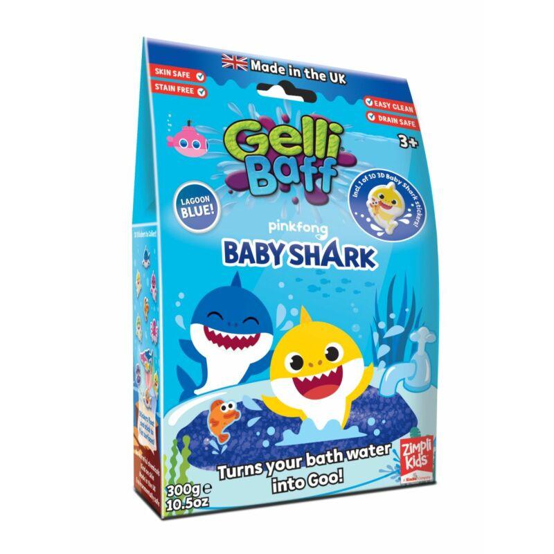 Gelli Baff Baby Shark fürdőzselé, 300 g-os, két-féle