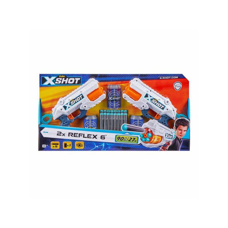 X-Shot Excel Reflex 6 - 2 db-os szivacslövő fegyver