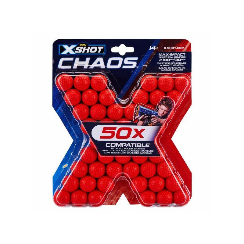 X-Shot Chaos szivacsgolyó utántöltő
