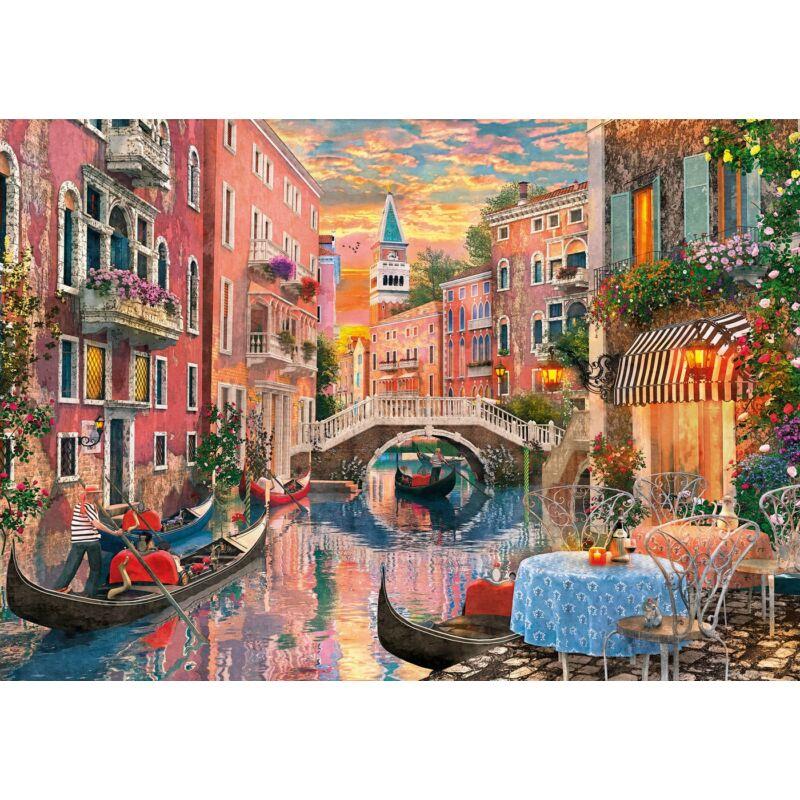 Velencei naplemente 6000 db-os puzzle - Clementoni