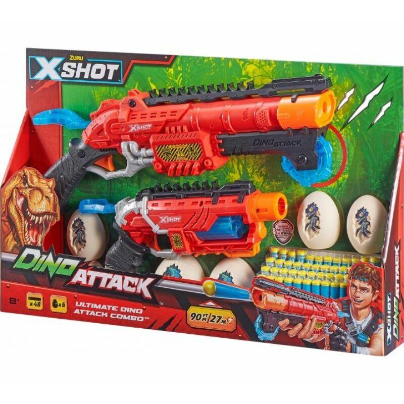 Xshot Dino attack - combo szett