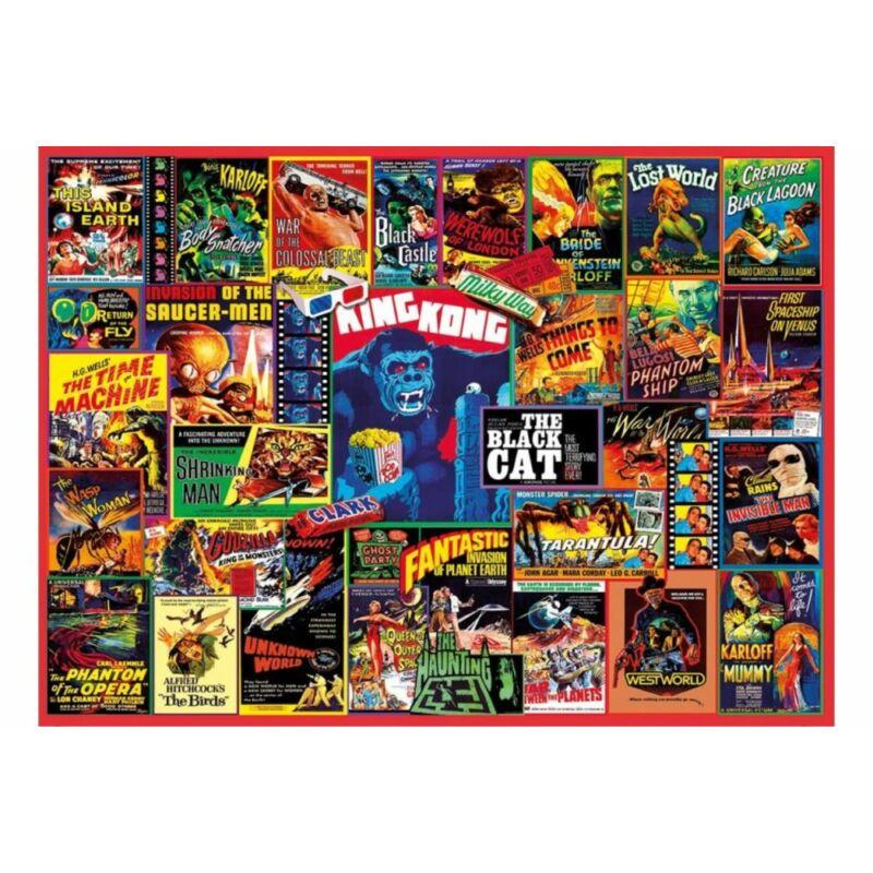 Klasszikus thriller filmek 1000 db-os puzzle - Clemetoni