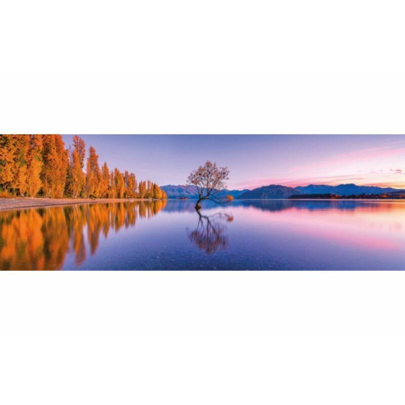 Wanaka tavi fa 1000 db-os panoráma puzzle - Clemetoni
