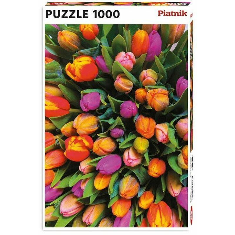 Tulipánok puzzle 1000 db-os