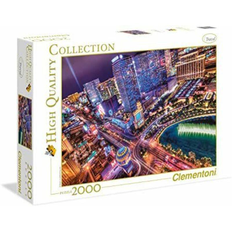 Las Vegas 2000 db-os puzzle - Clementoni