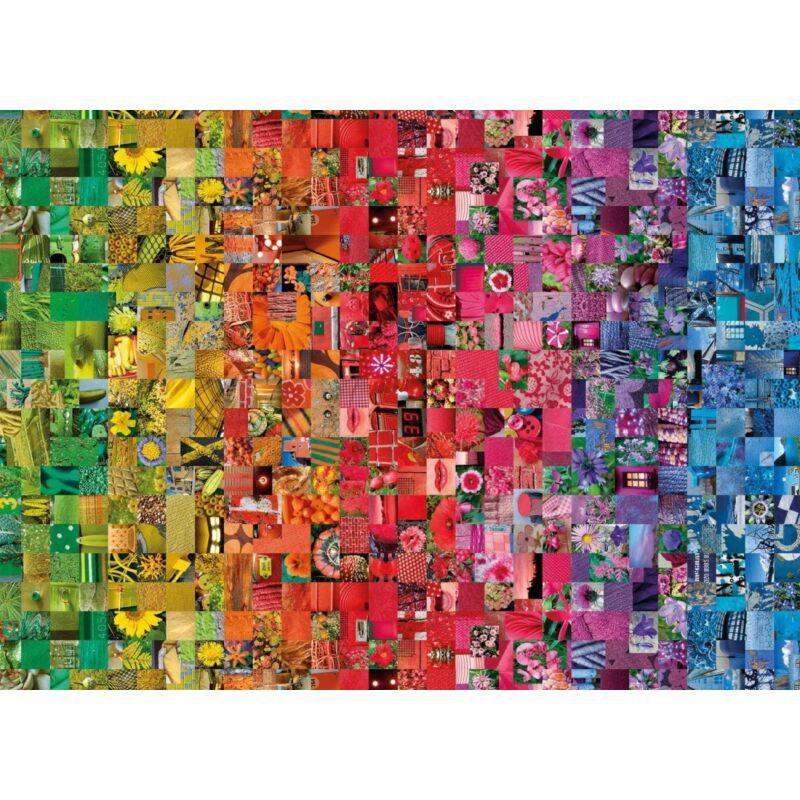 Kollázs 1000 db-os puzzle - Clemetoni ColorBoom