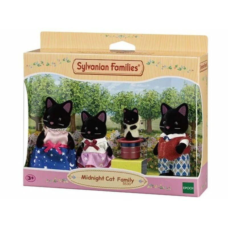 Sylvanian Families Fekete cica család