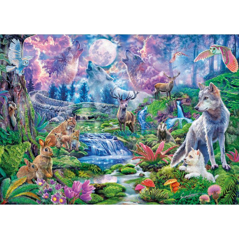 Clementoni Holdfényes vad táj 3000 db-os puzzle
