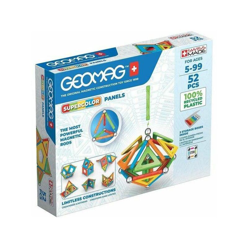 Geomag Supercolor Panel 52 db-os mágneses építőjáték