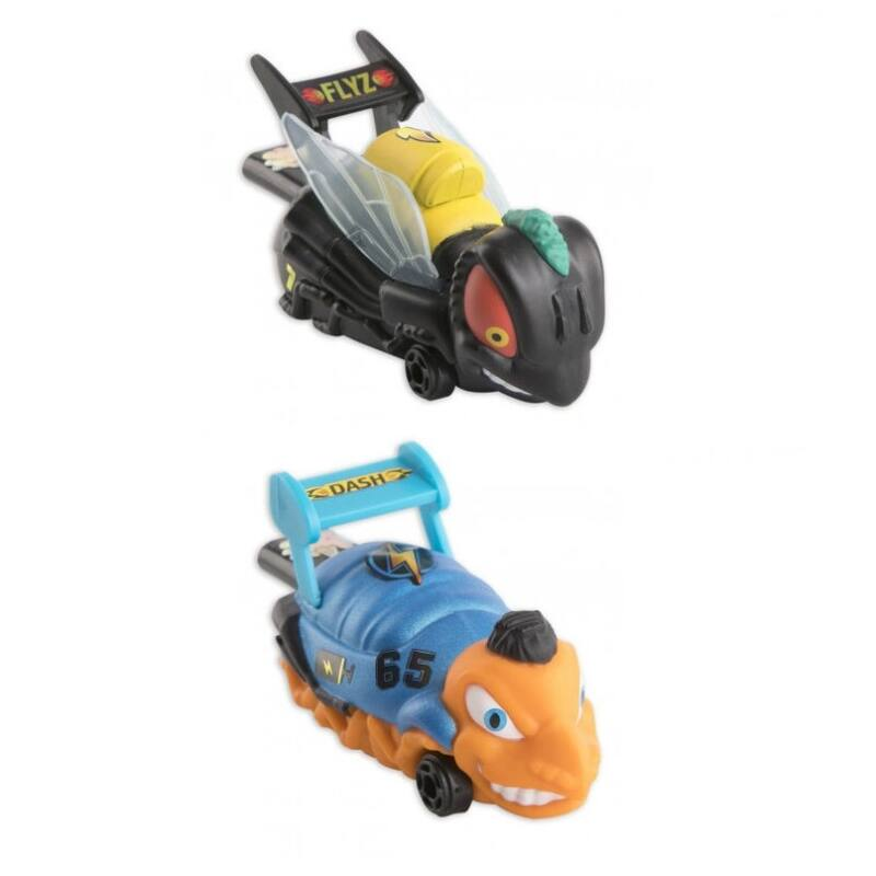 Bugs Racing - Flyz + Dash, 2 db-os szett