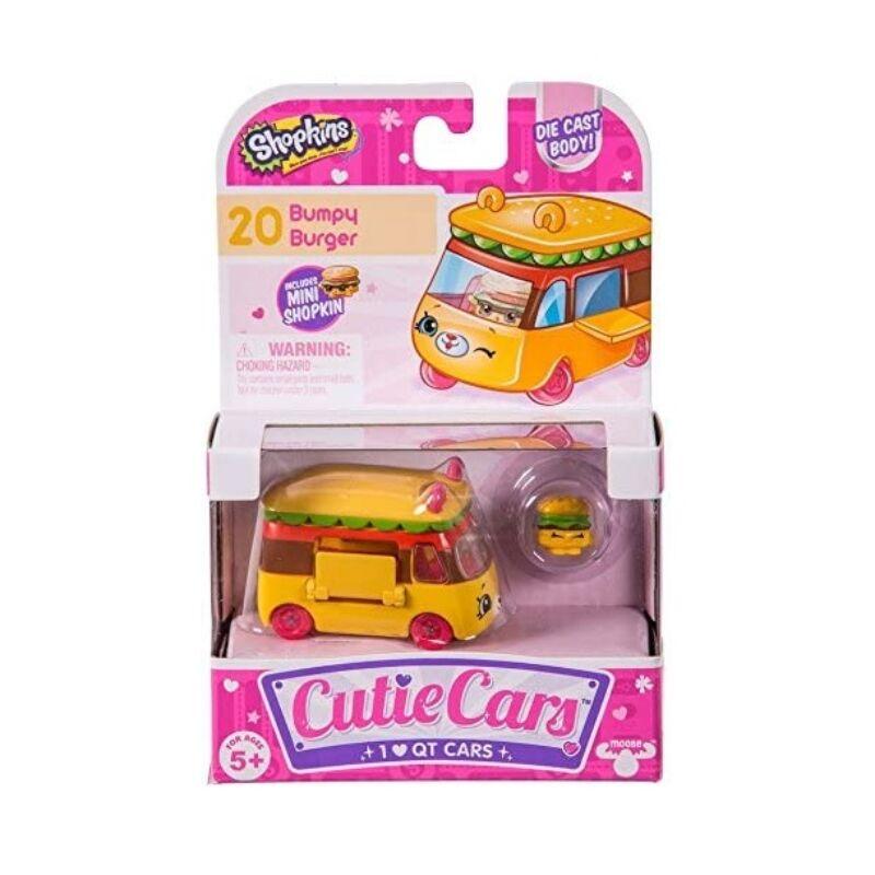 Shopkins Cuki kocsi 1 db-os szett - Döccenő Burgerautó (20)