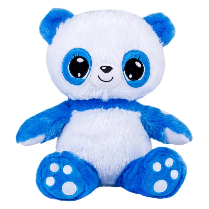 Lullabrites Panda zenélő, világító altató plüss figura