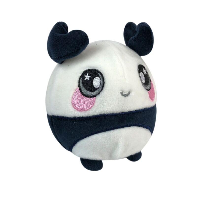 Squeezamals memóriahabos plüss figura 9 cm-es, panda maci