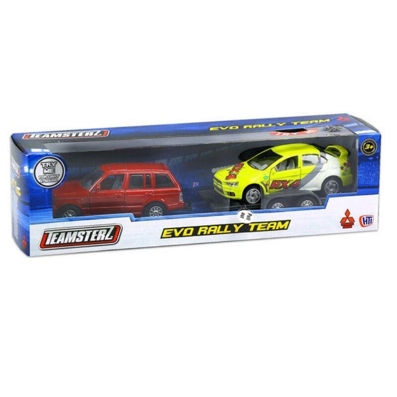 HTI Teamsterz rallyautó-szállító