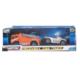 Kép 2/2 - Autómentő sportkocsival - narancs és ezüst színben (Teamsterz Recovery Tow Truck)