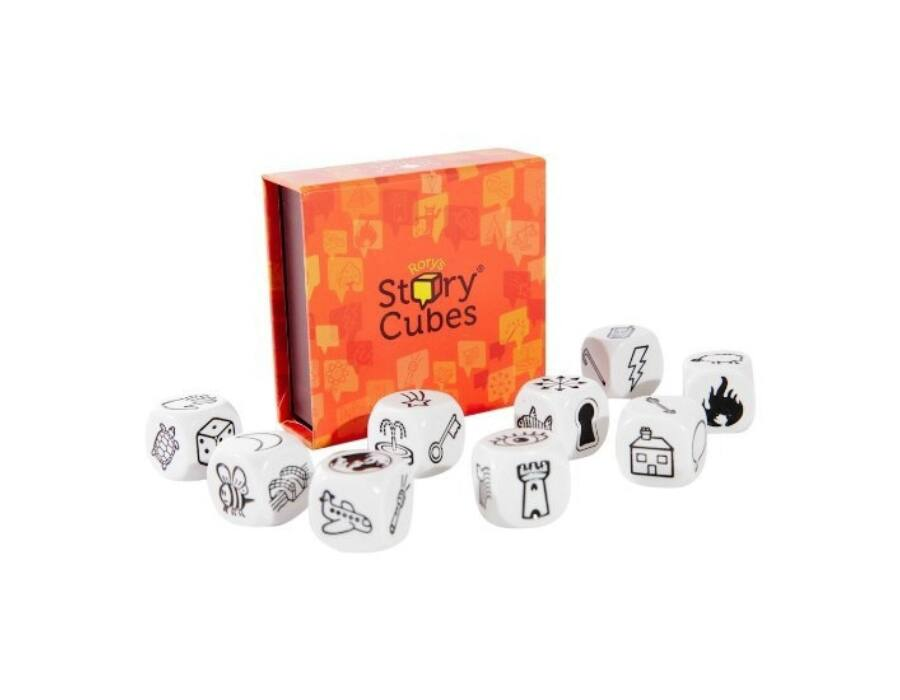 Sztori kocka - Story Cubes - angol