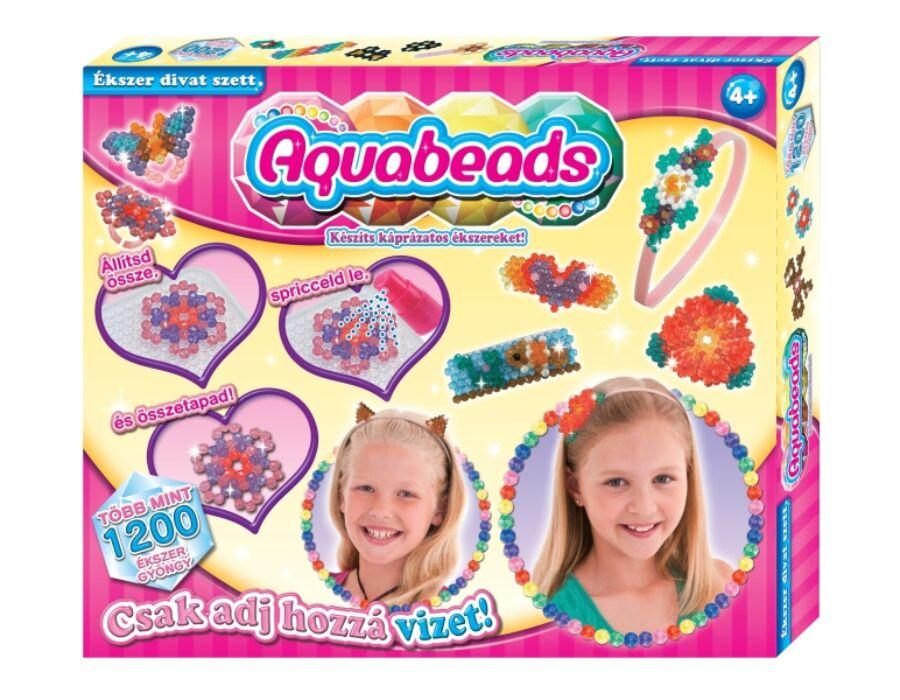 Aqua Beads Ékszer hajdíszítő nagy szett