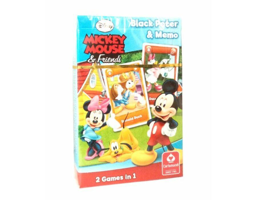 Miki egér és barátai Fekete Péter kártya