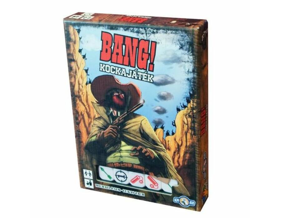 BANG! Kockajáték - magyar kiadás
