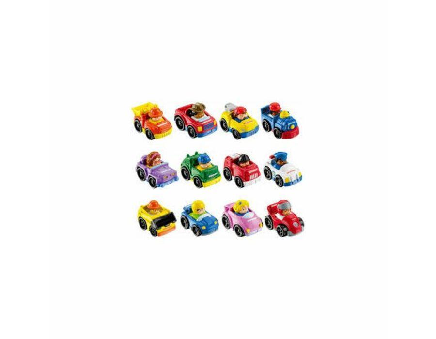 Little People négykerekű autópajtás kisautók