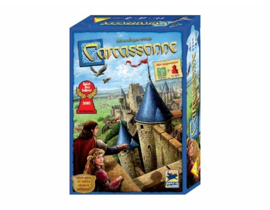 Carcassonne társasjáték új kiadás 2 mini kiegészítővel