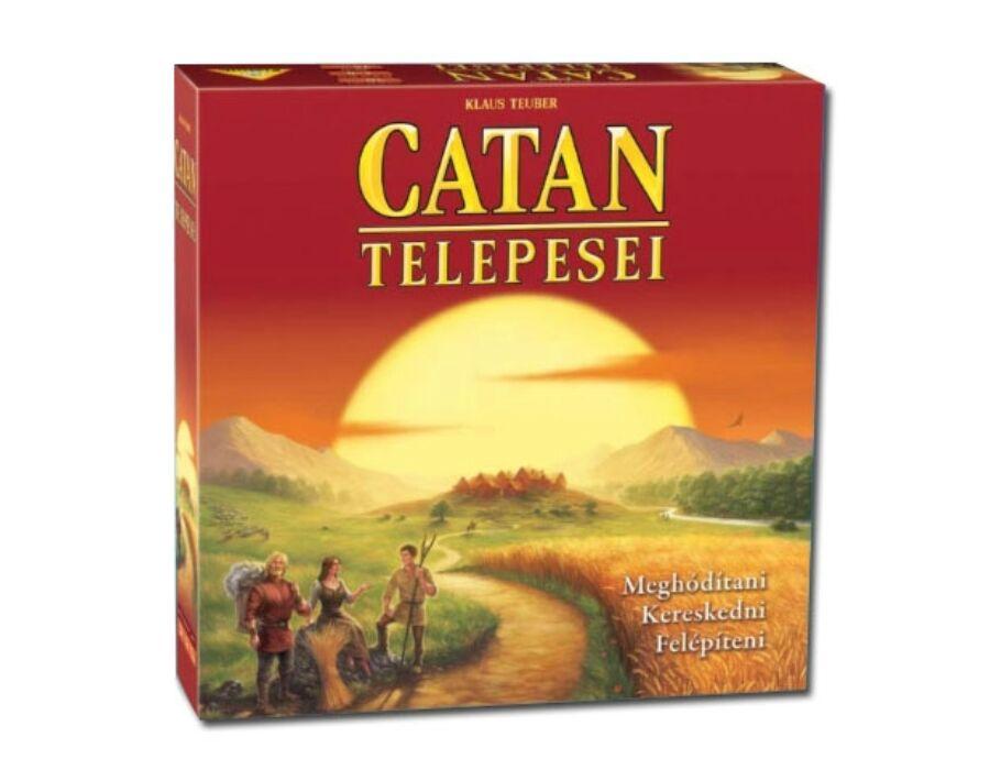 Catan telepesei 2015 társasjáték