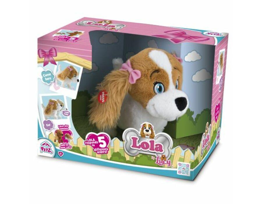 Lola interaktív kutya