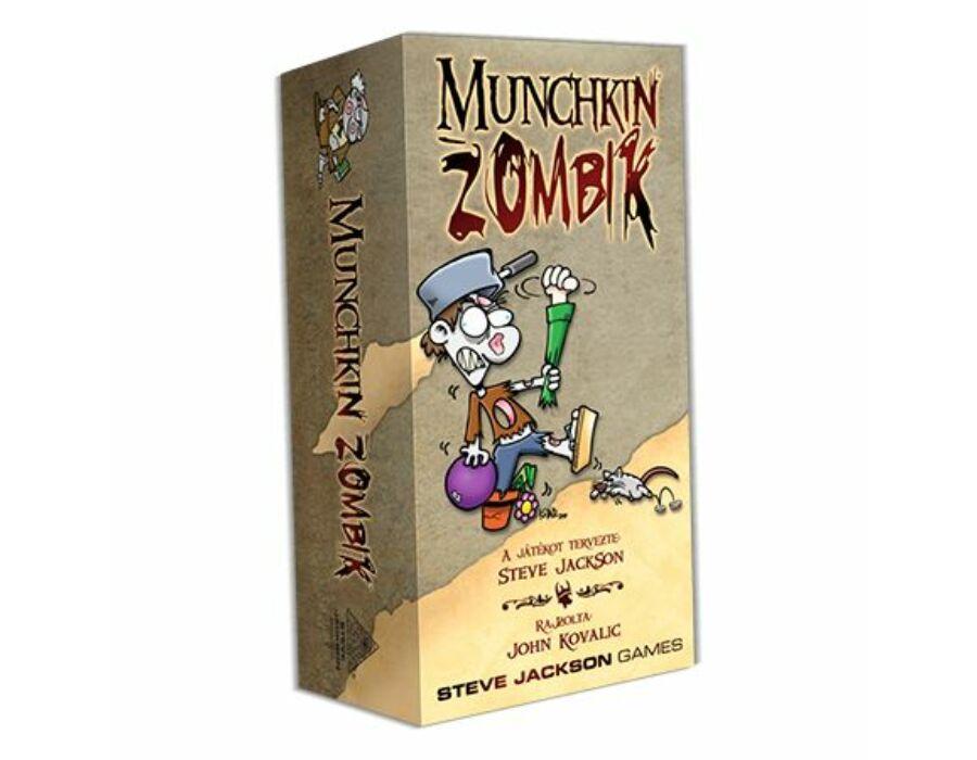 Munchkin Zombik kártyajáték