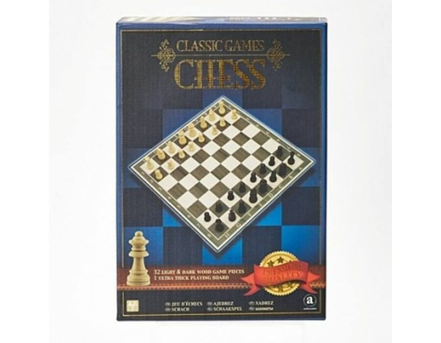 Classic Games Collection - Fa sakk készlet