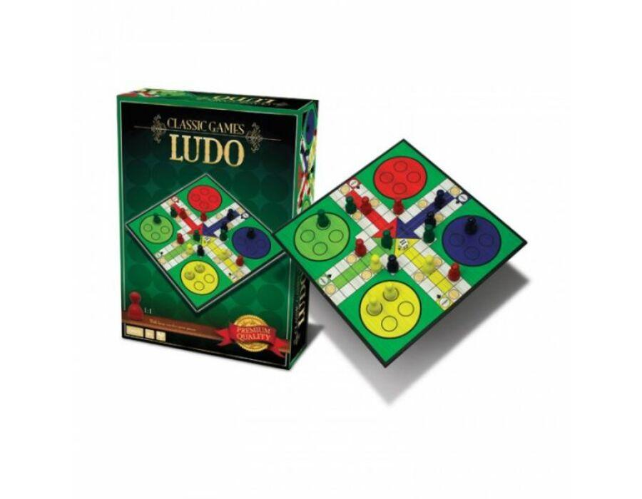 Classic Games Collection - Wood Ludo Ki nevet a végén?