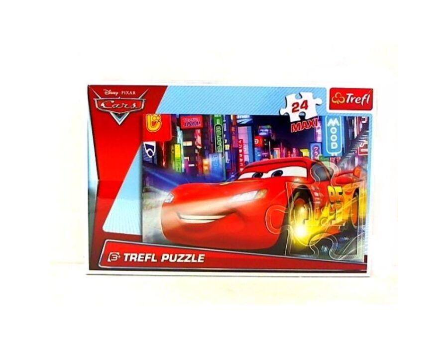 24Maxi Disney Cars 2 puzzle 24 db-os