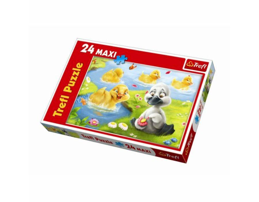 Trefl A rút kiskacsa MAXI puzzle 24 db-os
