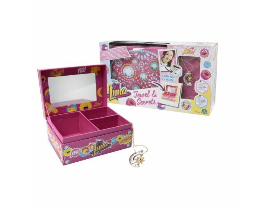 Soy Luna Ékszeres doboz Luna medállal