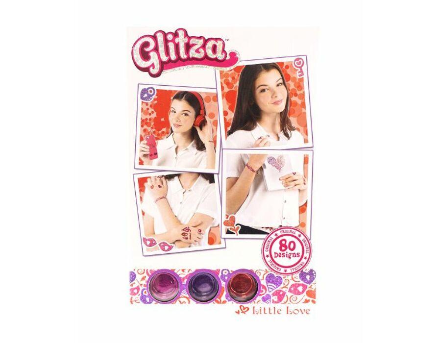 Glitza Fashion Csillámtetkó - Szerelmes minták 80 féle minta