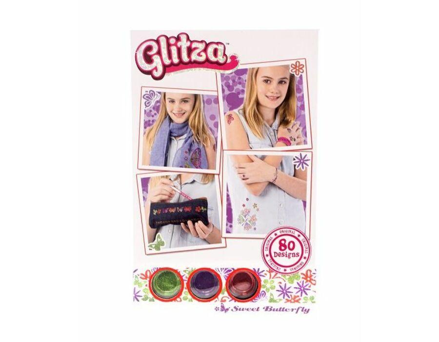 Glitza Fashion Csillámtetkó - Pillangók 80 féle minta