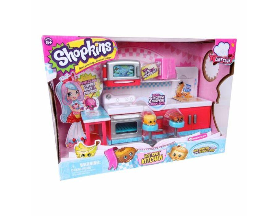 Shopkins S6 - Séf klub konyha játékszett