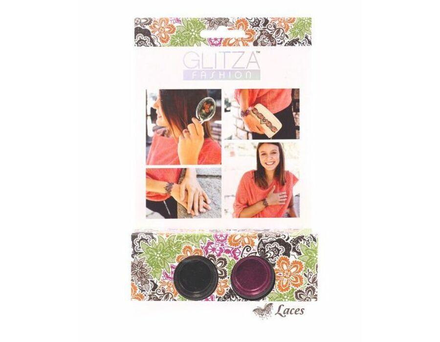 Glitza Fashion Csillámtetkó Kezdő szett - Csipkék