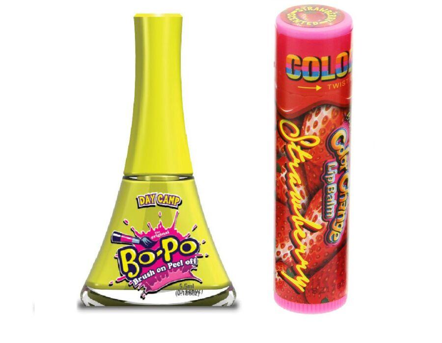 Bo-Po mini körömlakk illatos szájfénnyel