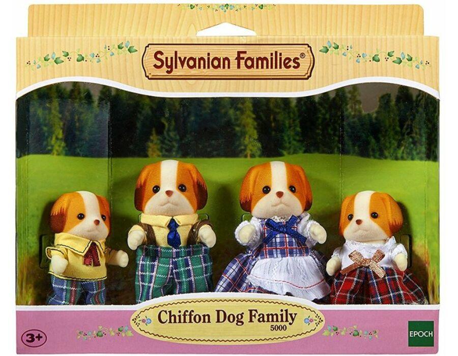 Sylvanian Families chiffon kutyus család
