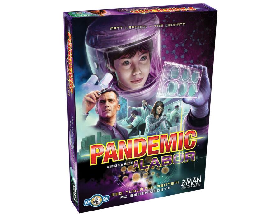 Pandemic kiegészítő - A labor társasjáték