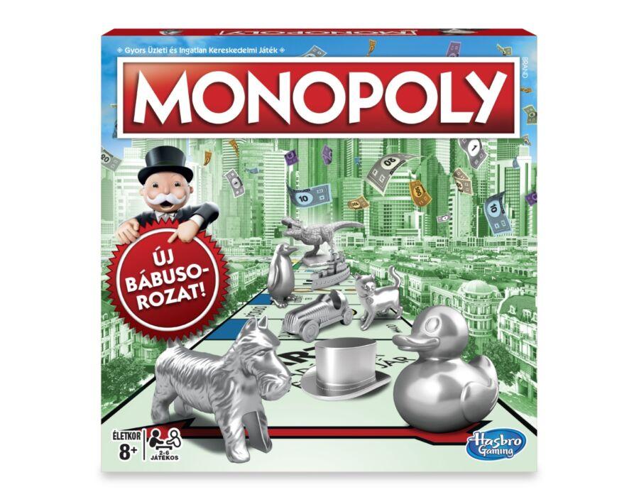 Klasszikus Monopoly társasjáték – új kiadás
