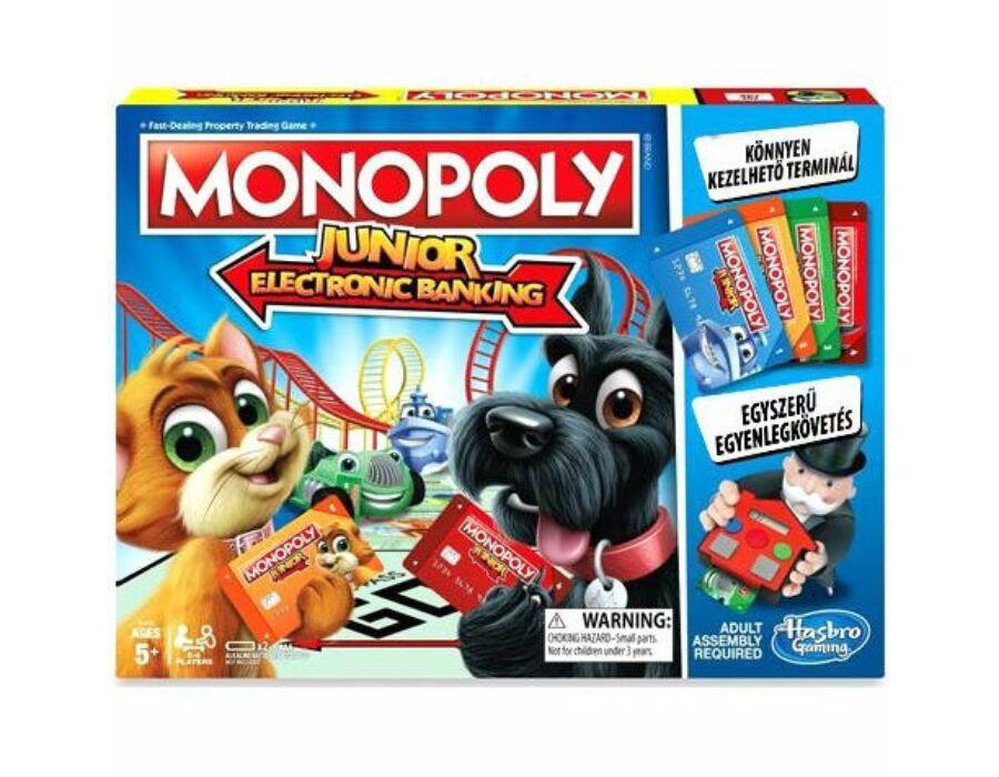 Monopoly Junior - Electronic Banking társasjáték