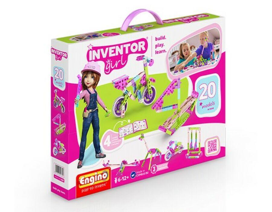 Engino Inventor Girl 20 az 1-ben építőjáték