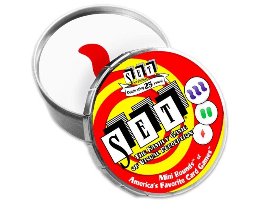 SET Mini Round - A felismerés játéka