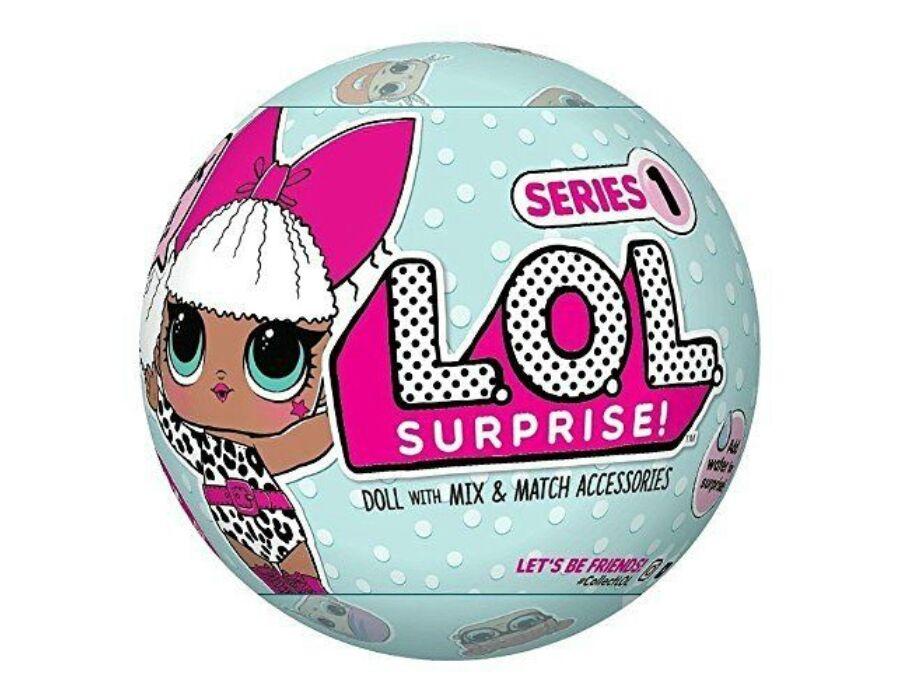 LOL Surprise baba: Tots Ball babák