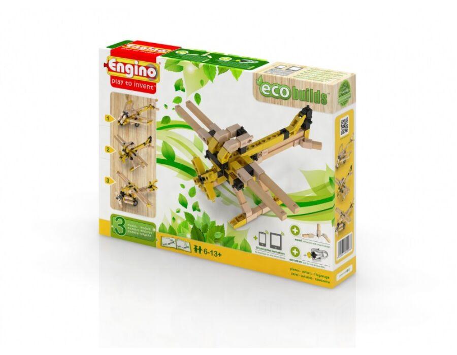 Engino Eco repülők építőjáték szett